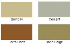Deck & Driveway Stain/Coating Color Chart