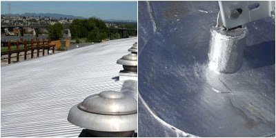 Aluminum Roof Coating 10 Year Protection Superior