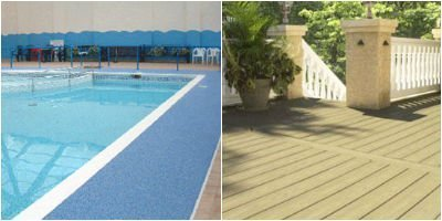 Decorative Non Slip Coating Stops Slip Hazards