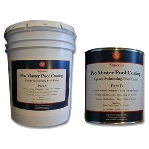Epoxy swimming pool paint 10 year protection superior industries inc for Epoxy coating for swimming pools